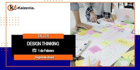 Taller de Desing Thinking entradas