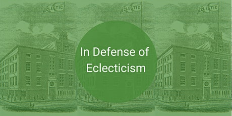 In Defense of Eclecticism tickets