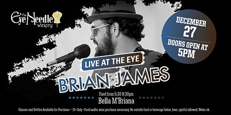 LIVE at the Eye: Brian James tickets