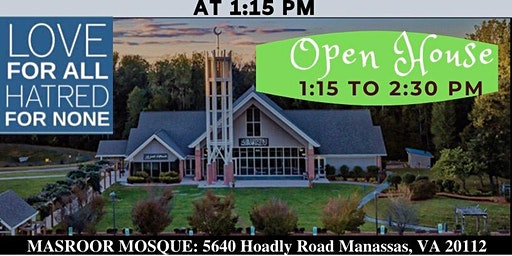 Friday Prayer Open House