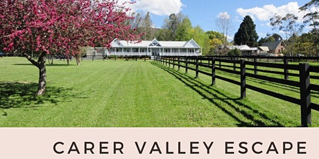 Carer Valley Escape tickets