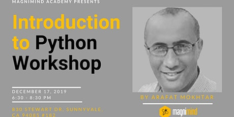 Introduction to Python Workshop tickets