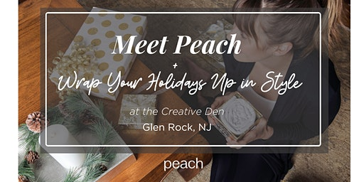 Meet Peach + Wrap Your Holidays Up in Style!