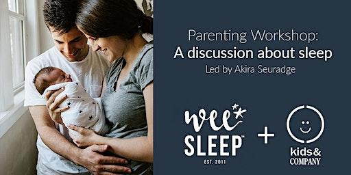 Kids & Company Mississauga Gateway Sleep Parent Workshop with WeeSleep - Jan 15