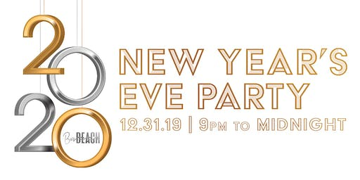 NYE Rooftop Party at Bo's Beach