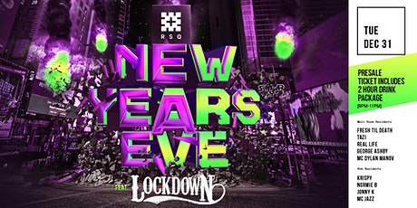 NYE 2019 feat. LOCKDOWN tickets