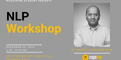 Introduction to Natural Language Processing Workshop tickets