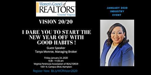 Vision 20/20 with Tanya Monroe
