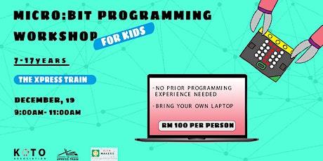 Microbit Programming Workshop tickets