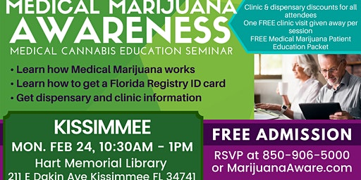Kissimmee- Medical Marijuana Awareness Seminar