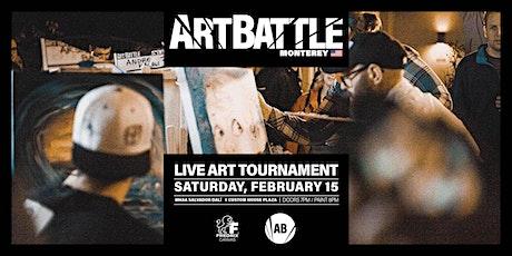 Art Battle Monterey - February 15, 2020 tickets