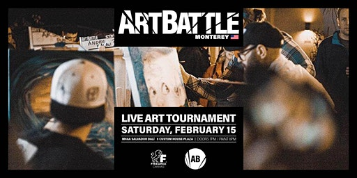 Art Battle Monterey - February 15, 2020