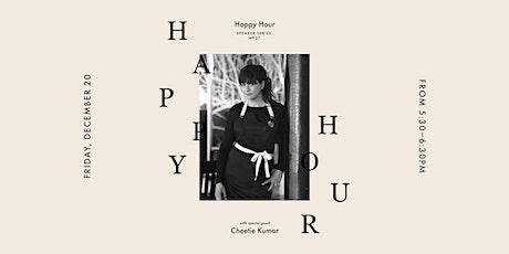 Happy Hour at Vert & Vogue with Cheetie Kumar tickets