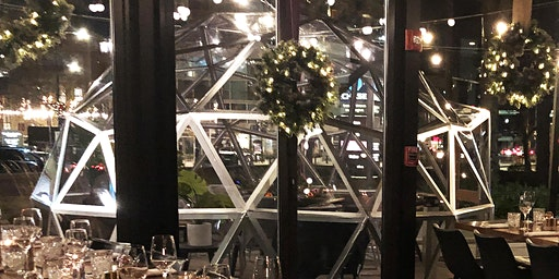 Dine in a Patio Dome with Next of Kin!