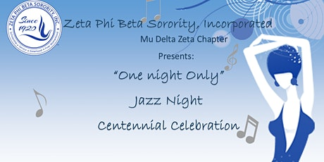 """""""One Night Only""""Jazz Night and Centennial Celebration tickets"""