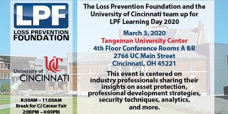 LPF Learning Day 2020 at The University of Cincinnati  tickets