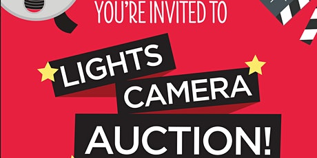 Lights, Camera, Auction tickets
