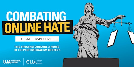 Combating Online Hate: Legal Perspectives tickets