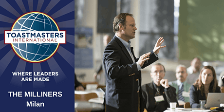 Learn Public Speaking (in English) - Toastmasters The Milliners Club - ONLINE tickets