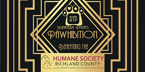 RYP & Humane Society of Richland County: Pawhibition Casino Night