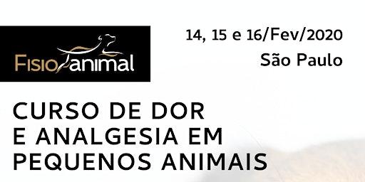IV Curso De Dor E Analgesia Em PEQUENOS ANIMAIS