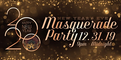 NYE Masquerade Party at The Balcony & Bo's Pub tickets