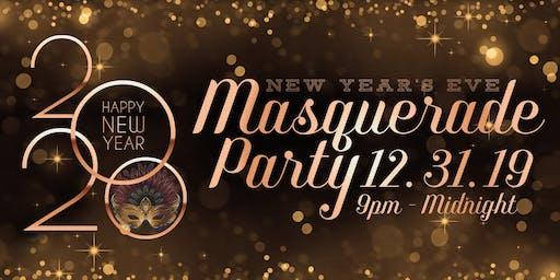 NYE Masquerade Party at The Balcony & Bo's Pub