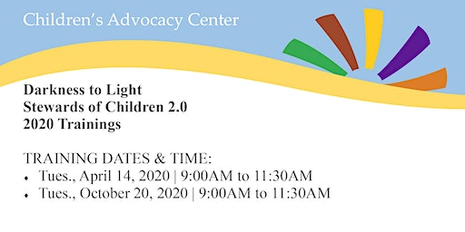 Darkness to Light Stewards of Children 2.0 - 2020 Training