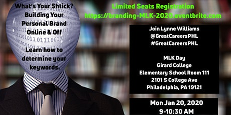 What's Your Shtick? Personal Branding Online & Off + List of Other Events tickets