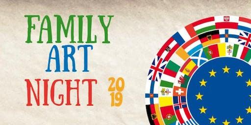 Its a Small World-Family Art night
