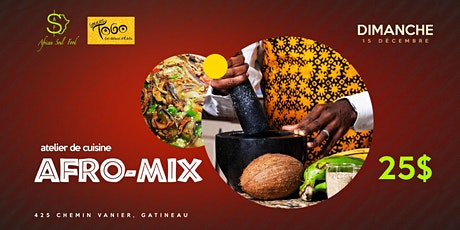 Atelier cuisine Afro-mix tickets
