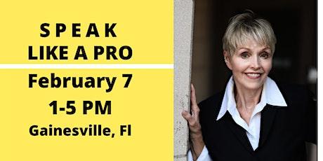 Public Speaking Workshop: Speak Like a Pro tickets