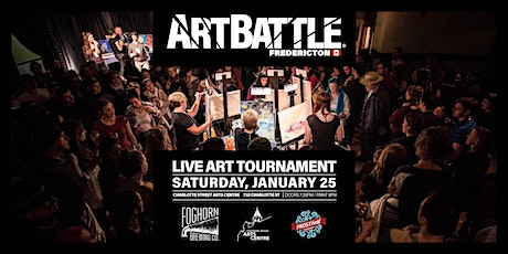 Art Battle Fredericton FROSTival - January 25, 2020 tickets
