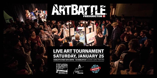 Art Battle Fredericton FROSTival - January 25, 2020