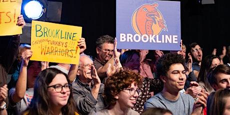 High School Quiz Show: Brookline vs. Waltham tickets
