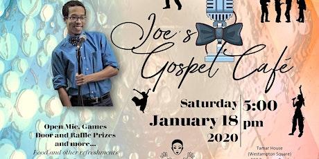 Joe's Gospel Cafe tickets