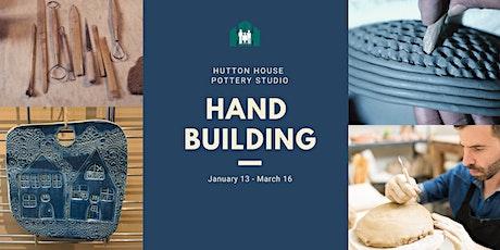 Handbuilding with Clay tickets