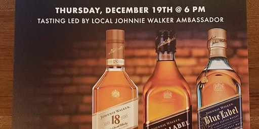 Johnnie Walker Dinner Pairing