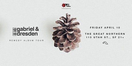 Opel presents Gabriel & Dresden : Remedy Album Tour (POSTPONED to  2021) tickets
