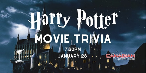 Harry Potter Movie Trivia - Jan 28, 7:30pm - Grasslands Canadian Brewhouse