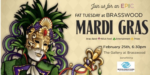 Fat Tuesday at BRASSWOOD