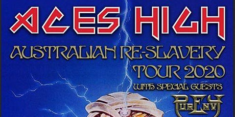 Aces High presents the Australian Re-slavery Tour tickets