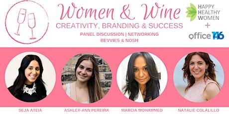 Women & Wine: Creativity, Branding & Success tickets