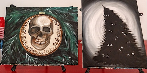 Kansas City Horror Club X-mas Painting Party
