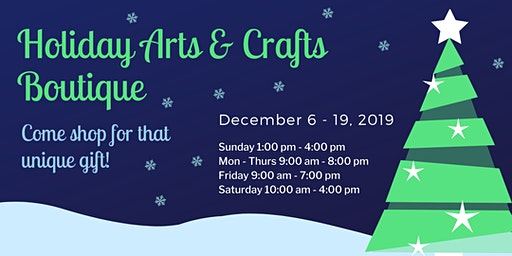 Holiday Arts & Crafts Boutique