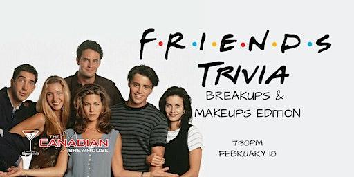 Friends Trivia - Feb 18, 7:30pm - CBH Grasslands