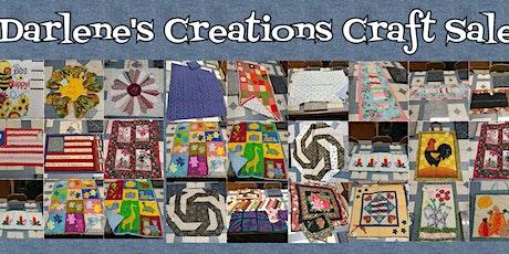 Darlene's Craft Creation Sales tickets