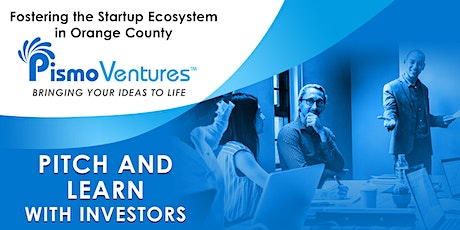 Pitch and Learn With Investors tickets