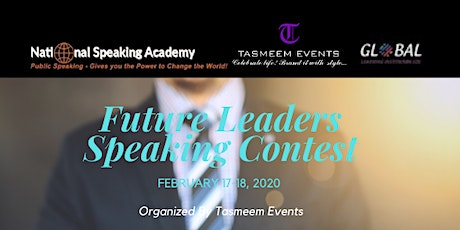 FUTURE LEADERS SPEAKING CONTEST tickets
