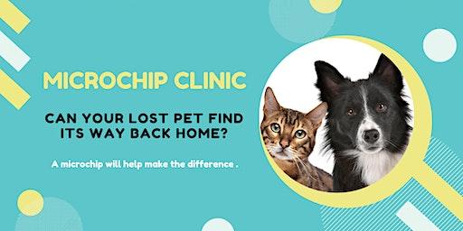 Pet Microchipping Clinic - $25 per pet